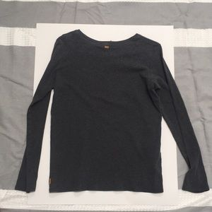 Lucy Tops - Lucy grey long sleeve top size XL